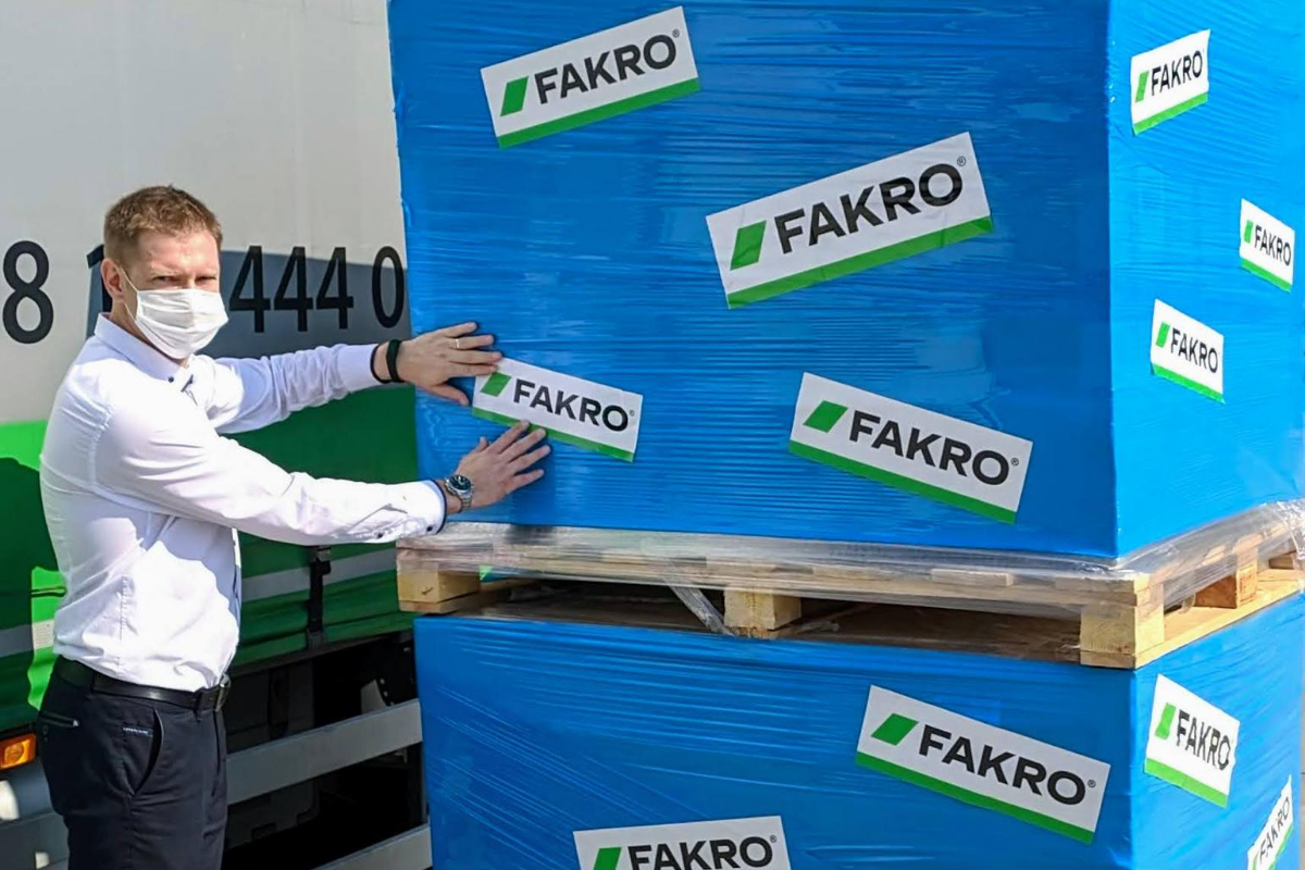 FAKRO involved in the aid campaign for Beirut