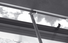 ZSZ Rod for Operating Awning Blinds