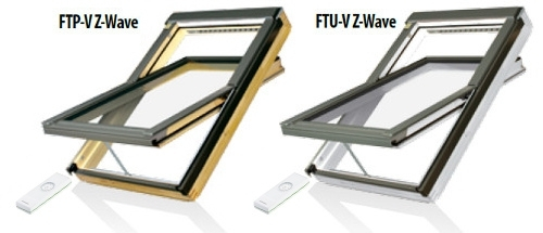 Z-Wave roof windows