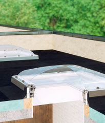 Flat roof windows type C and type F