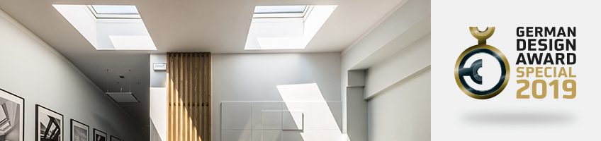 Type G flat roof windows – with flat glass section - FAKRO
