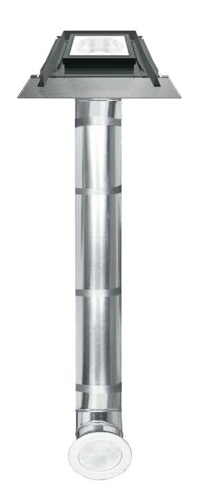 Túnel de luz plano con tubo transmisor de luz rígido SR_