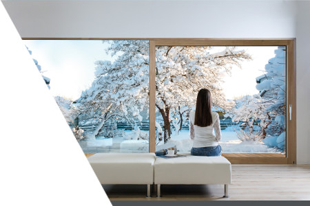 Wood-aluminium vertical windows INNOVIEW - FAKRO