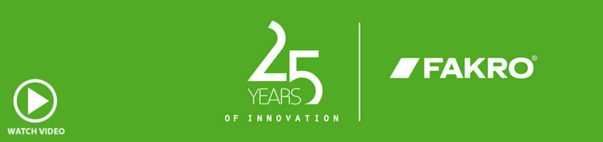 25 years of innovation - FAKRO