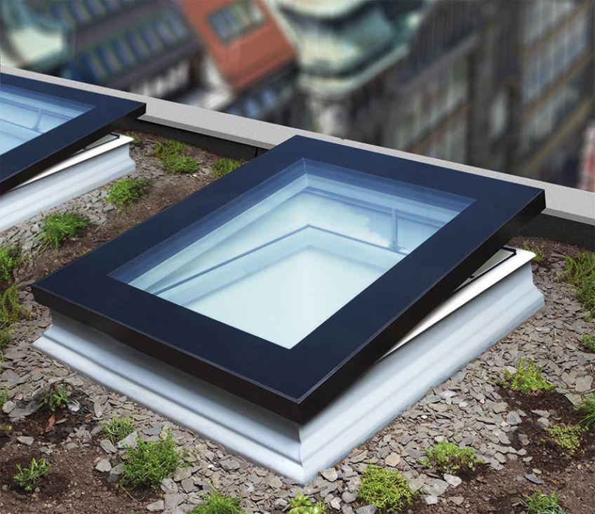 Type F Flat Roof Window Features A Sleek Modern Look