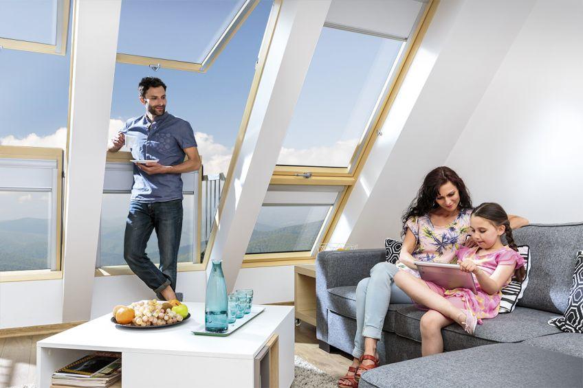 skylight bay angle design